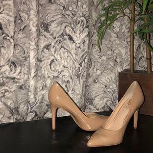Tan Vince Camuto heels